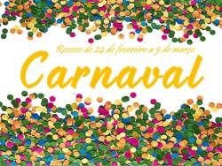 Recesso Carnaval