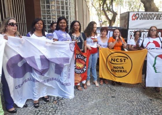 Cida protesto mulheres 2