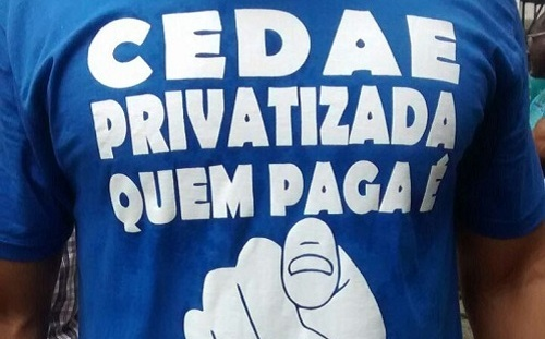 Cedae privatizada