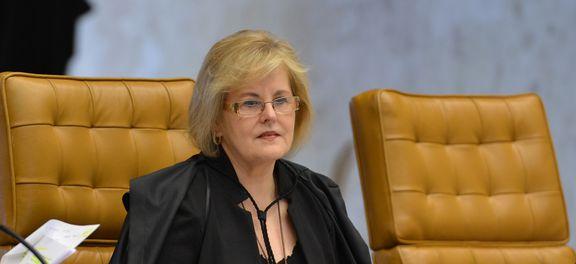 O Supremo Tribunal Federal (STF) realiza sessão plenária,  para a análise e julgamento de processos em pauta. Na foto a ministra Rosa Weber (Fabio Rodrigues Pozzebom/Agência Brasil)