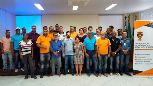O 1º encontro regional aconteceu em Campos, em março de 2016
